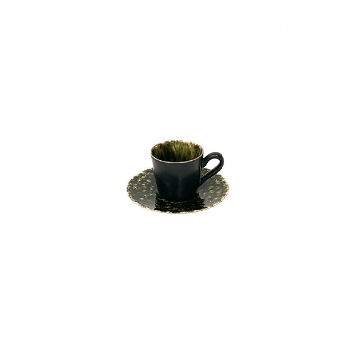 COFFEE CUP & SAUCER 9CL RIVIERA FORETS