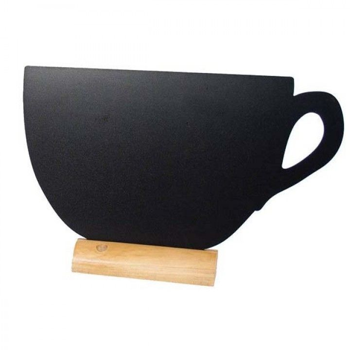 Conj. Lousa base mad.+caneta giz fbt-cup