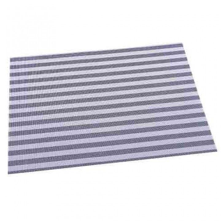Individual 30x45 bandas azul rb-9602-bl