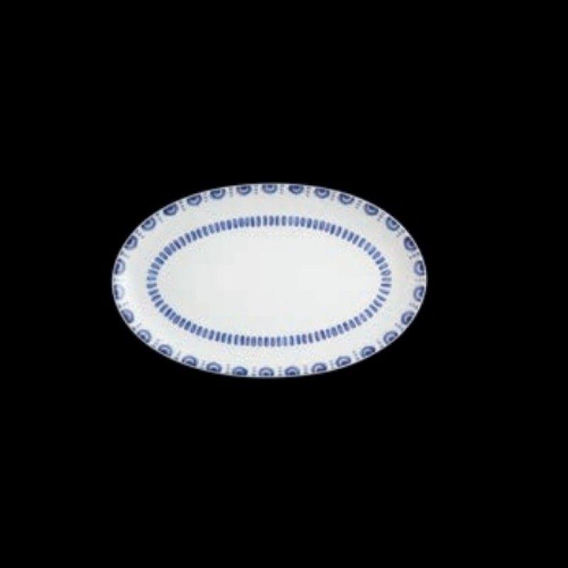 Prato Oval 25x16 Azure Lux