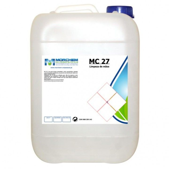 Garrafao 5l Alcool Gel Mc-27