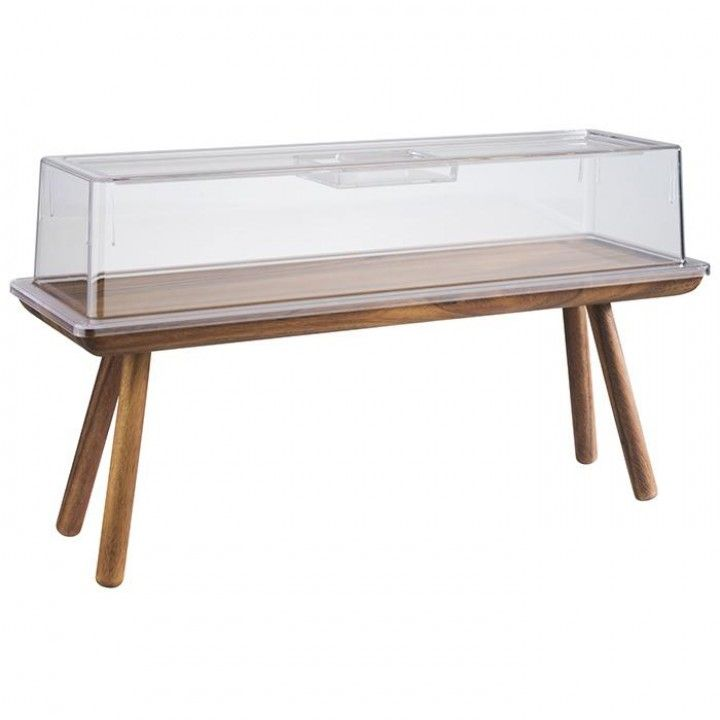Expositor Buffet 2/4 Mad H20cm Acacia 15623