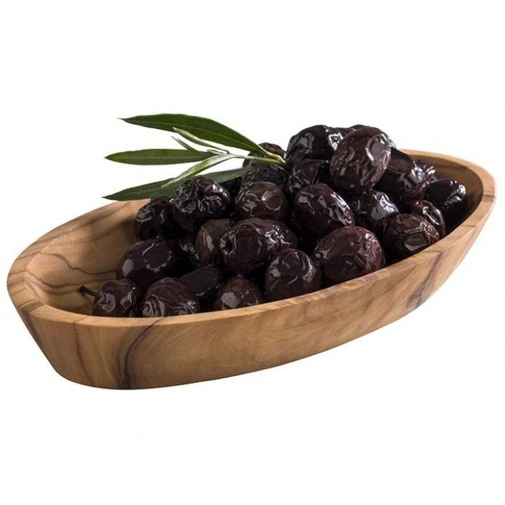 Saladeira Oval Madeira 16cm Olive 844