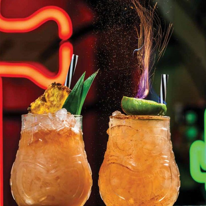 Copo COCKTAIL Tiki Split DUAS CARAS