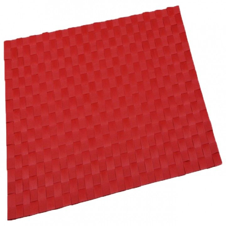 Individual 30x45 Pol. Vermelha Rb-9603-Rd