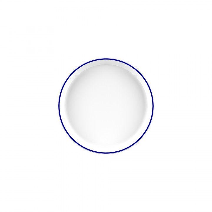Prato 16cm Nor Blue Rim