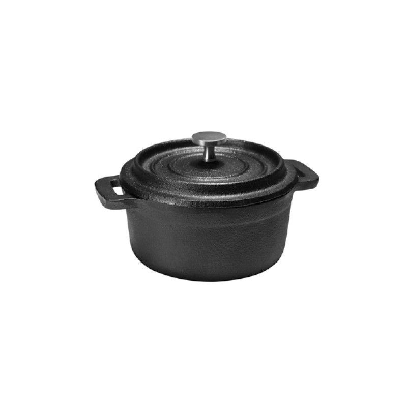 Round casserole 10CM cast iron M7120