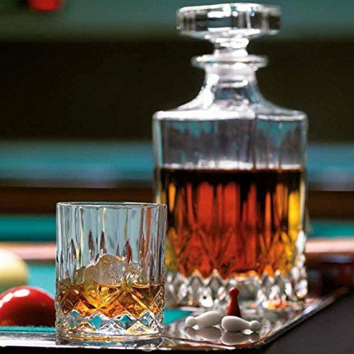 Conj. Frasco C/2 Copos Whisky Opera