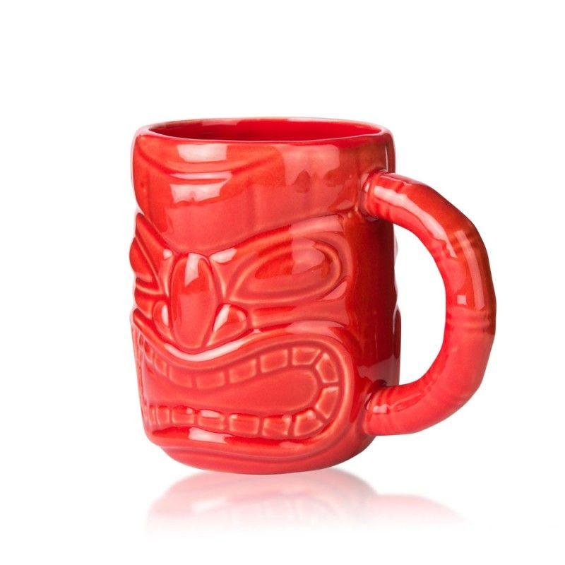 Caneca Tiki 47cl Vermelha