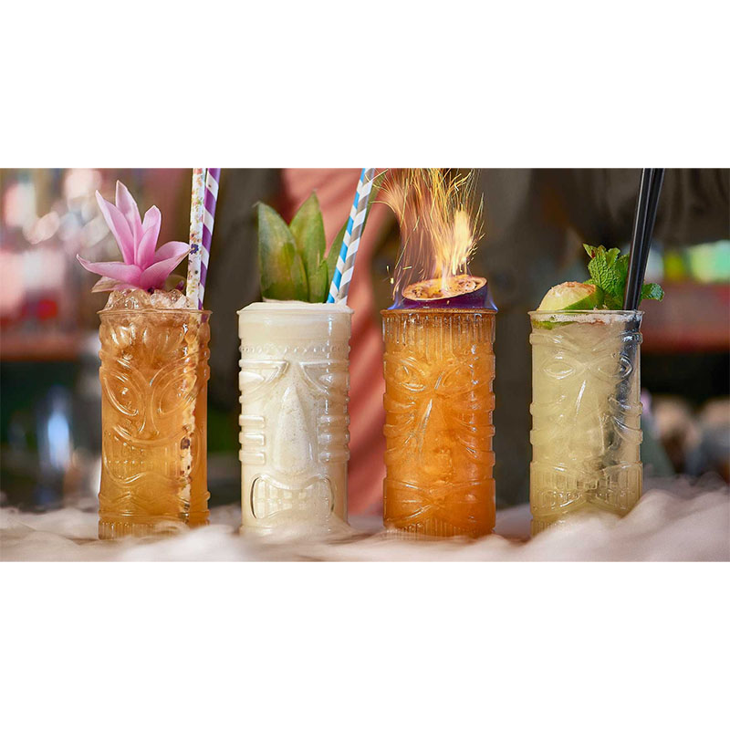 Copo COCKTAIL Tiki Mixed Gods