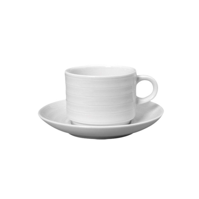 Tea cup / saucer 26cl Roulette Hotel