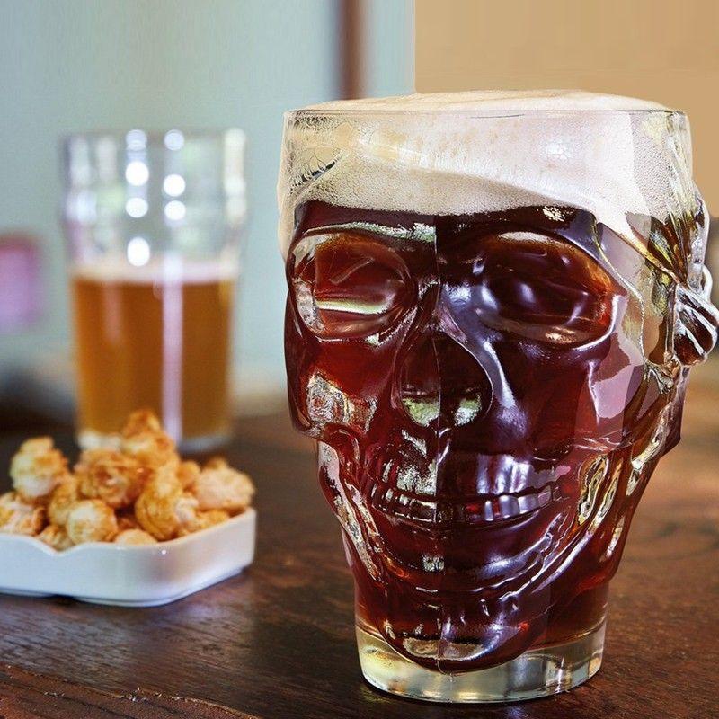 Caneca Cerveja Caveira 90cl