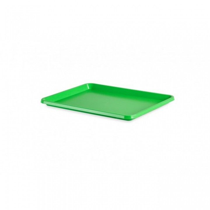 Tabuleiro Abs 35x26.5cm Verde Alface 885