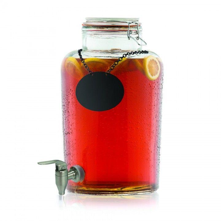 Dispensador Bebidas C/Torneira Inox 123495