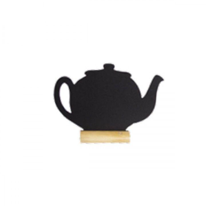 Conj. Lousa+base Mad. Fbt-Teapot