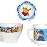 Serviço Bebe 3 peças Winnie Pooh