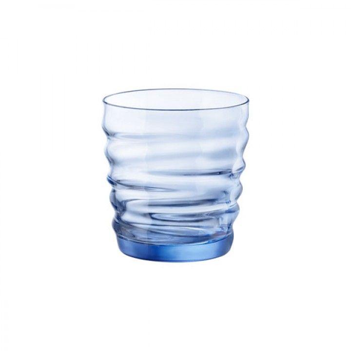 RIFLESSI GLASS 30CL BLUE