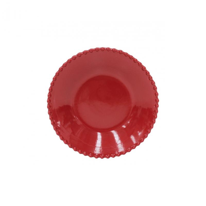SOUP/PASTA PLATE 24CM PEARL RUBI