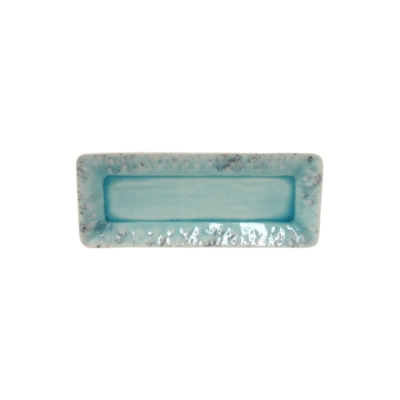 Rect. tray medium 27CM Madeira Blue