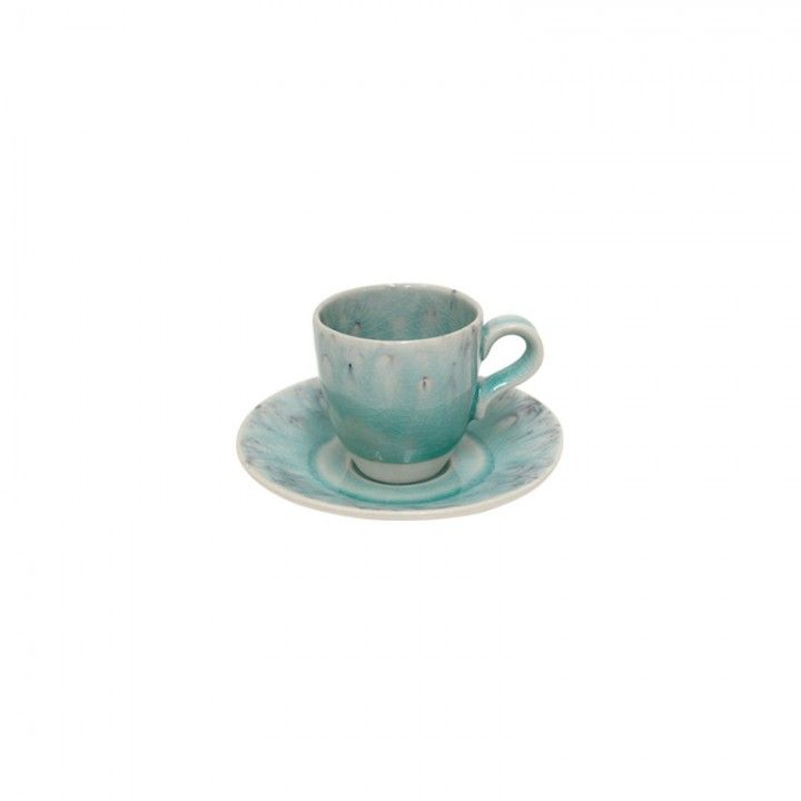 Coffee cup and saucer 8CL Madeira Blue